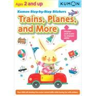 Trains, Planes, and More by Kumon Publishing Co., Ltd., 9781935800880