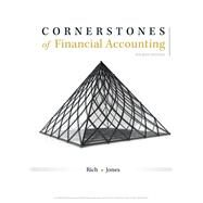 Cornerstones of Financial Accounting by Rich, Jay; Jones, Jeff, 9781337690881
