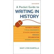 A Pocket Guide to Writing in History by Rampolla, Mary Lynn, 9781457690884