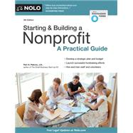 Starting & Building a Nonprofit by Pakroo, Peri H., 9781413320886