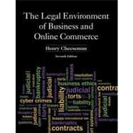 The Legal Environment of Business and Online Commerce by Cheeseman, Henry R., 9780132870887
