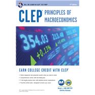 Clep Principles of Macroeconomics With Online Practice Tests by Sattora, Richard, 9780738610887