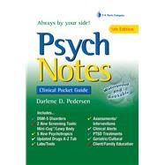 Psychnotes by Pedersen, Darlene D., 9780803660892
