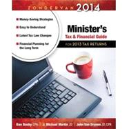 Zondervan Minister's Tax and Financial Guide 2014: For 2013 Tax Returns by Busby, Dan; Martin, J. Michael; Van Drunen, John, 9780310330899
