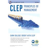 CLEP Principles of Management by Ogilvie, John R., Ph.D., 9780738610900
