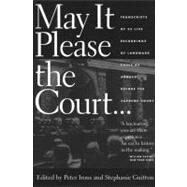 May It Please the Court by Irons, Peter, 9781595580900