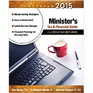 Zondervan Minister's Tax & Financial Guide 2015 by Busby, Dan; Martin, J. Michael; Van Drunen, John, 9780310330905