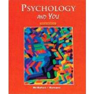 Psychology and You, Student Edition by Unknown, 9780314140906