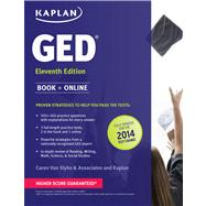 New GED® Test Strategies, Practice, and Review with 2 Practice Tests Book + Online – Fully Updated for the 2014 GED by Van Slyke, Caren, 9781609780906