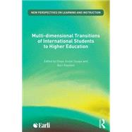 Multi-dimensional Transitions of International Students to Higher Education by Jindal-Snape; Divya, 9781138890909
