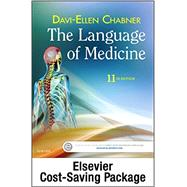Medical Terminology Online with Elsevier Adaptive Learning for The Language of Medicine (Access Code and Textbook Package), 11e 11th Edition by Chabner, Davi-Ellen, 9780323370912