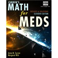 Math for Meds by Curren, Witt, 9781111540913