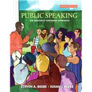 Public Speaking by Beebe, Steven A.; Beebe, Susan J., 9780134380919