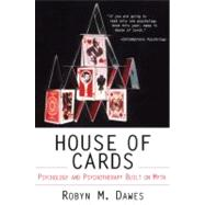 House of Cards by Dawes, Robyn, 9780684830919