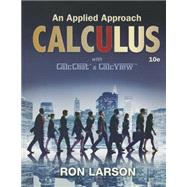 Calculus An Applied Approach by Larson, Ron, 9781305860919