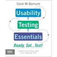 Usability Testing Essentials by Barnum, Carol M., 9780123750921