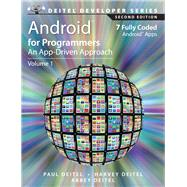 Android for Programmers An App-Driven Approach by Deitel, Paul; Deitel, Harvey; Deitel, Abbey, 9780133570922