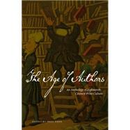 The Age of Authors by Keen, Paul, 9781554810925