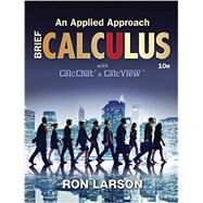 Calculus An Applied Approach, Brief by Larson, Ron, 9781305860926