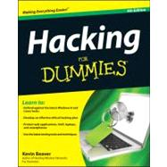 Hacking for Dummies by Beaver, Kevin, 9781118380932
