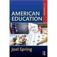 American Education by Spring; Joel, 9781138850934