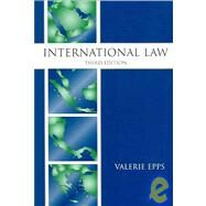 International Law by Epps, Valerie, 9781594600937