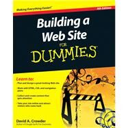 Building a Web Site For Dummies by Crowder, David A., 9780470560938