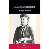 Olive Schreiner by Burdett, Carolyn, 9780746310939