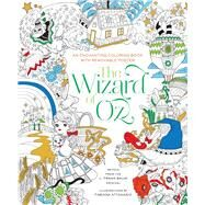 The Wizard of Oz Coloring Book by Attanasio, Fabiana, 9781454920939