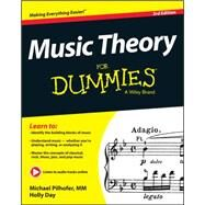 Music Theory for Dummies by Pilhofer, Michael; Day, Holly, 9781118990940