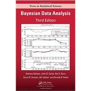 Bayesian Data Analysis, Third Edition by Gelman; Andrew, 9781439840955
