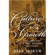 A Culture of Growth by Mokyr, Joel, 9780691180960