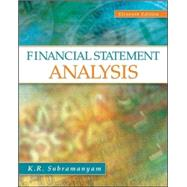 Financial Statement Analysis by Subramanyam, K. R., 9780078110962