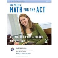 Bob Miller's Math for the Act by Miller, Bob, 9780738610962