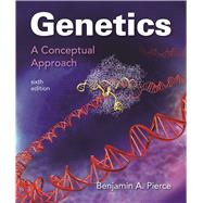 Genetics: A Conceptual Approach by Pierce, Benjamin A., 9781319050962