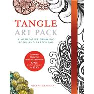 Tangle Art Pack: A Meditative Drawing Book and Sketchpad by Krahula, Beckah, 9781631590962