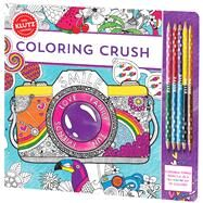 Coloring Crush by Unknown, 9780545930970