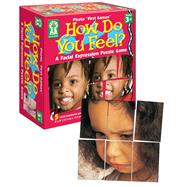 How Do You Feel?: A Facial Expression Puzzle Game by Carson Dellosa Pub Co Inc, 9781602680975
