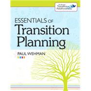 Essentials of Transition Planning by Wehman, Paul, 9781598570984