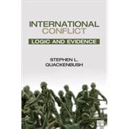 International Conflict: Logic and Evidence by Quackenbush, Stephen L., 9781452240985
