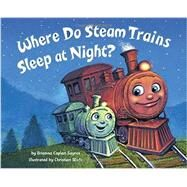 Where Do Steam Trains Sleep at Night? by Sayres, Brianna Caplan; Slade, Christian, 9780553520989