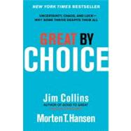 Great by Choice by Collins, Jim; Hansen, Morten T., 9780062120991