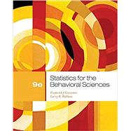 Statistics for the Behavioral Sciences by Gravetter, Frederick J; Wallnau, Larry B., 9781111830991