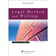 Legal Method and Writing by Calleros, Charles R., 9781454830993