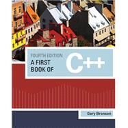 A First Book of C++ by Bronson, Gary J., 9781111531003