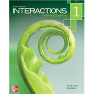 Interactions 1 - Listening and Speaking 6th ed by Tanka, Judith, 9780077831004