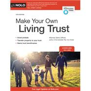 Make Your Own Living Trust by Clifford, Denis, 9781413321005