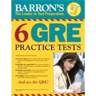Barron's 6 Gre Practice Tests by Freeling, David; Kotchian, Vince, 9781438001005