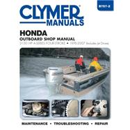 Clymer Manuals Honda Outboard Shop Manual by Haynes North America, Inc., 9781620921005