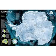 Antarctica Satellite by National Geographic Maps, 9780792281009